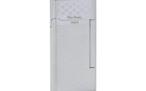 pfeifenshop: Zigarrenfeuerzeug Pierre Cardin Classic - Karomuster