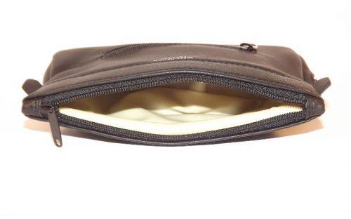 pfeifenshop: Martin Wess Lammleder Pfeifentasche, für 1 Pfeife, mit Reißverschluss