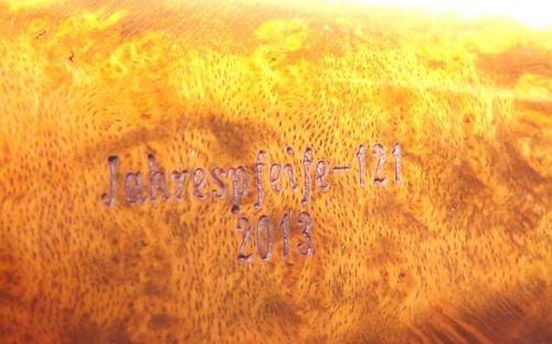 pfeifenshop: Design Berlin Jahrespfeife 2013 - 121 Premium