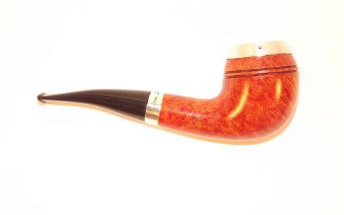pfeifenshop: Peterson Pfeife Silver Cap XL14 Natural F-lip