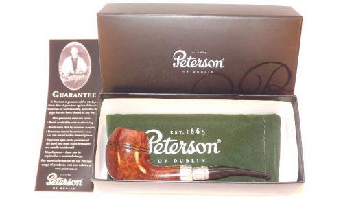 pfeifenshop: Peterson Spigot Silver XL14 Irish F-lip
