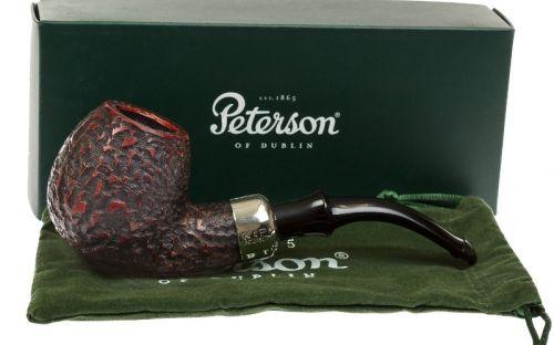 pfeifenshop: Peterson Pfeife Darwin B42 Rustic P-lip