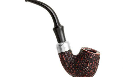 Peterson Pfeife Standard System 312 Rustic P-Lip