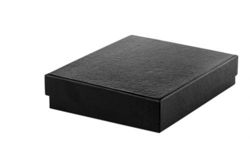 Zigarren Aschenbecher - schwarz Keramik, rund
