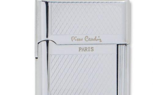 pfeifenshop: Zigarrenfeuerzeug Pierre Cardin Classic - Rautenmuster