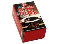 pfeifenshop: Ermuri Silikat Pfeifenfilter 50 Stück