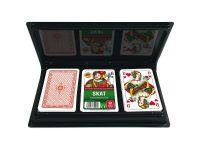 Spielkartenkassette - Romme/Skat